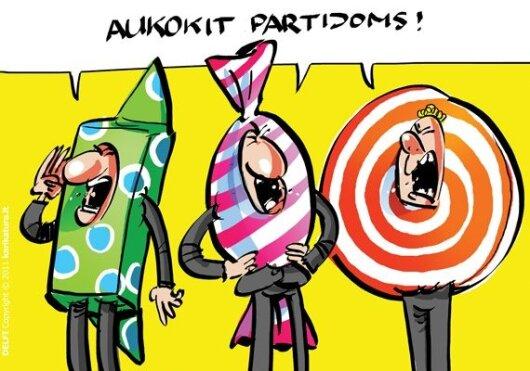 Seimas sukūrė naują landą partijų finansavimui?