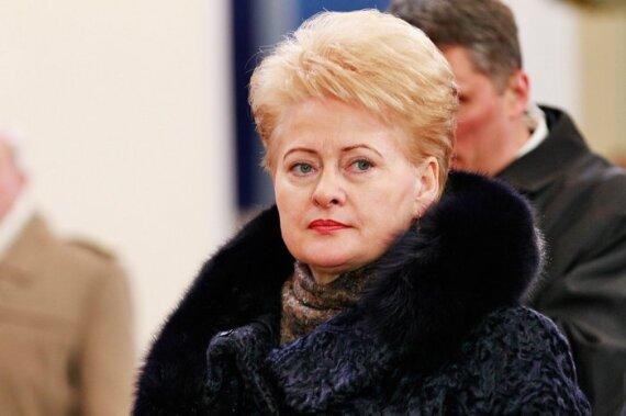 D.Grybauskaitė atidarė knygų mugę