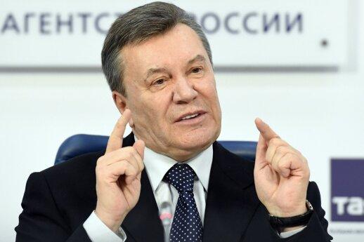 Latvijos konfiskuoti 29 mln. eurų RIB sąskaitoje priklausė Janukovyčiaus aplinkai