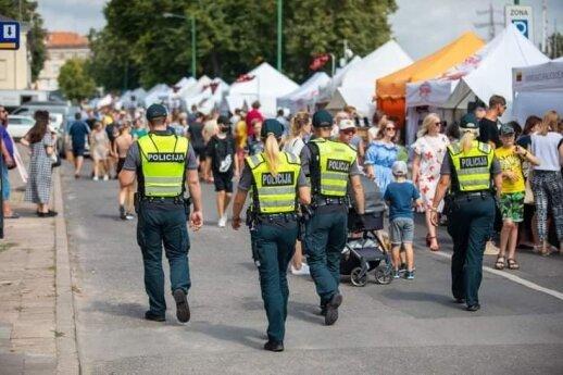 Per Jūros šventę patruliuoja sustiprintos pareigūnų pajėgos: gatvėse – apie 200 policininkų