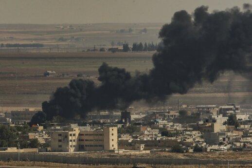 Per antskrydžius Sirijoje žuvo penki Iraną remiantys kovotojai