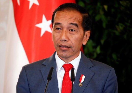 Indonezijoje po ministro užpuolimo sulaikyta per 20 įtariamų radikalų