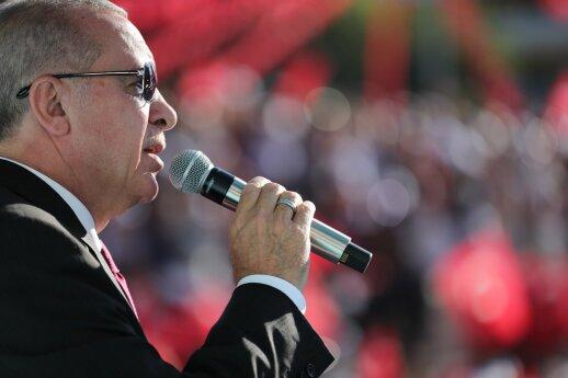 Erdoganas prabilo apie branduolinį ginklą: pasekmės regionui būtų neprognozuojamos