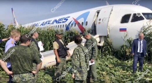 Lėktuvą kukurūzų lauke nutupdęs rusų pilotas: sprendimas keitėsi kelis kartus nufilmuota pavojų laineriui sukėlusi akimirka
