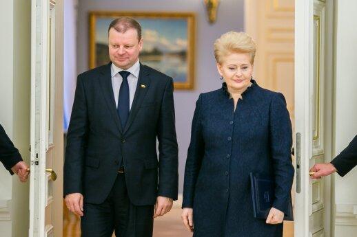 Pagrindinis priekaištas Skverneliui: ką jo vietoje darė Grybauskaitė