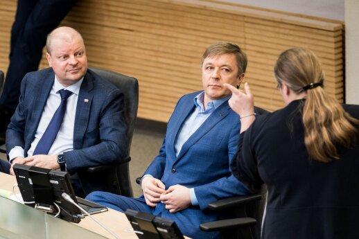 Karbauskis apie inicijuojamą apkaltos komisiją Rozovai: nematau problemos pasirašyti