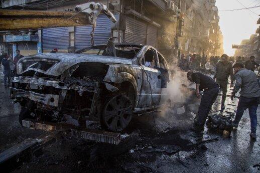 Šiaurės Sirijoje sprogus automobilyje padėtai bombai žuvo 19 žmonių atnaujinta 16.37
