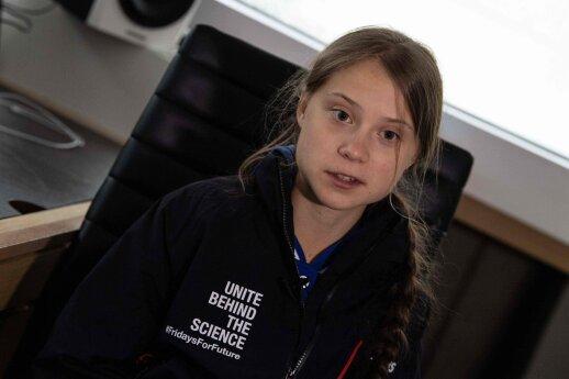 Po pasaulį keliaujanti Thunberg sako, kad jai reikia poilsio