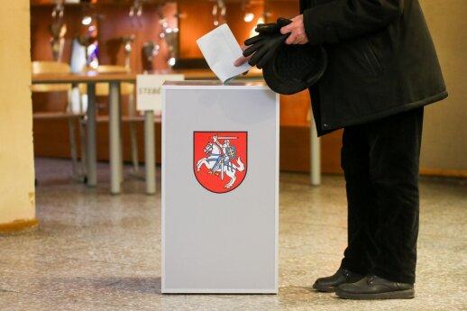 Prezidentės patarėjas: rinkimų komitetų sistema išsikreipė
