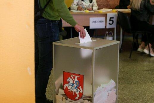 Dėl rinkimų pažeidimų kol kas nepradėtas nė vienas ikiteisminis tyrimas