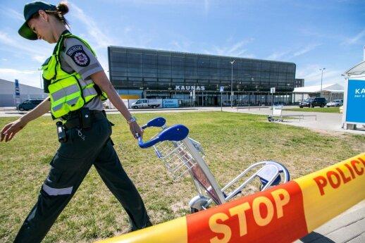 Kauno oro uoste sulaikytas lėktuve neblaivus siautėjęs panevėžietis