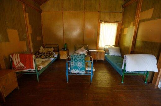 Vaizdas vaikų vasaros stovykloje atėmė žadą: vargu ar dar kur būtų galima pamatyti tokį sovietmečio palikimą