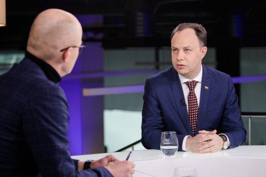 Lietuvoje siaučiant tymų protrūkiui Veryga pripažįsta veiksmų plano neturintis