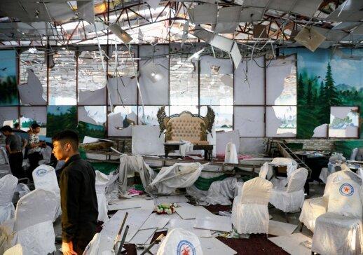 Vestuvių šventė baigėsi tragedija: detonavus sprogmenį, žuvo daugiau nei pusšimtis ceremonijos dalyvių