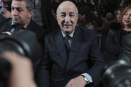 Alžyre – masinis protestas prieš naują prezidentą