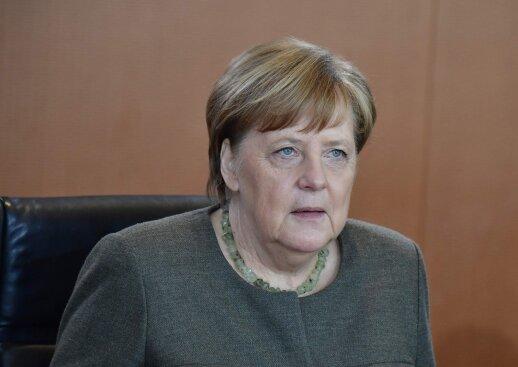 Merkel į amžinąją kelionę palydėjo savo motiną