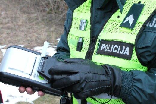 Policijos pareigūnams siūlomas vienas papildomas laisvadienis