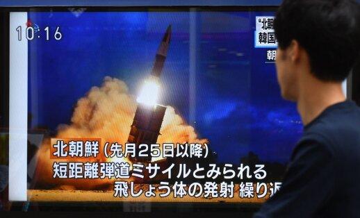 """Iš Šiaurės Korėjos – naujas """"rūstus perspėjimas"""": nebeturime apie ką kalbėtis papildyta 11.05"""