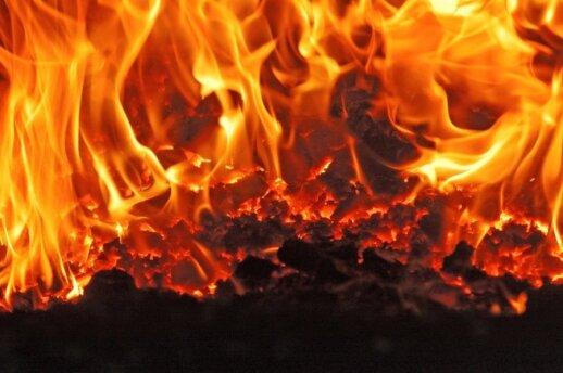 Dviejose gaisravietėse rasta po negyvą žmogų