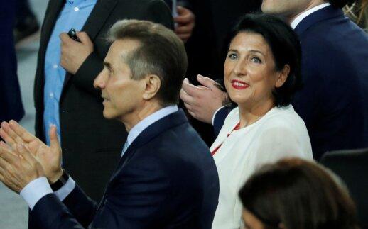 Naujoji Gruzijos prezidentė ragina Rusiją gerbti tarptautinės teisės normas