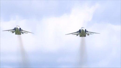 Baltijos jūroje vyko Rusijos karinių oro pajėgų pratybos