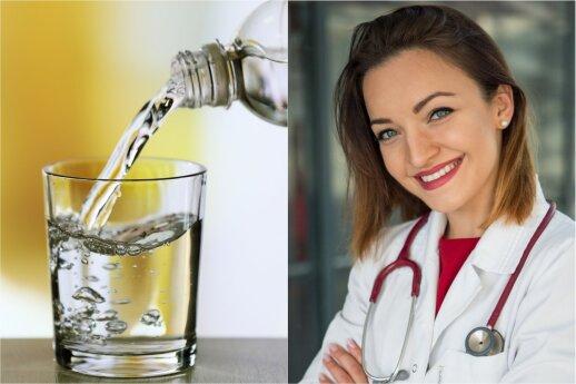 Gydytoja dietologė: galima ar negalima užsigerti valgant?
