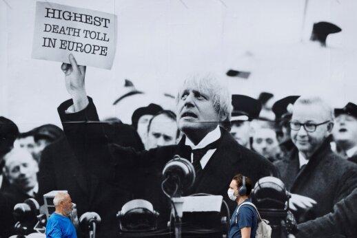 Boriso Johnsono patarėjas pažeidė karantino taisykles