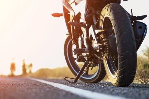 Pasieniečiai sulaikė į Lietuvą su vogtu motociklu važiavusį rusą