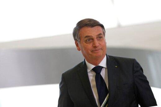 Brazilijos prezidentas atsikirto finansavimą sustabdžiusioms Vokietijai ir Norvegijai