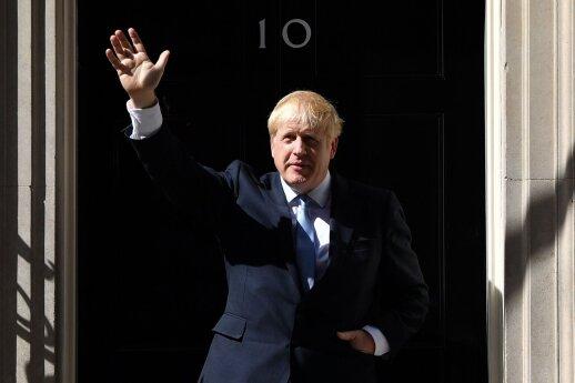"""Johnsonas: vizituose po ES sostines sieks proveržio dėl """"Brexit"""""""