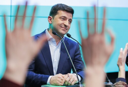 Kremlius: Maskva apie naująjį Ukrainos prezidentą spręs iš jo darbų
