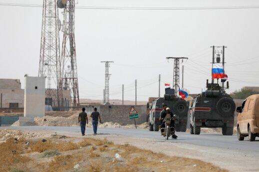 Rusija: Sirijos pajėgos visiškai kontroliuoja Manbidžą papildyta 16.28