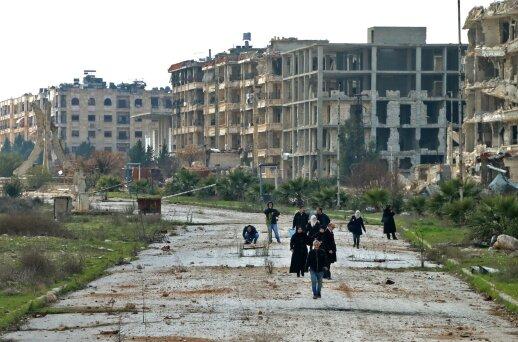 Jungtinės Tautos: humanitarinė padėtis Šiaurės vakarų Sirijoje sparčiai blogėja
