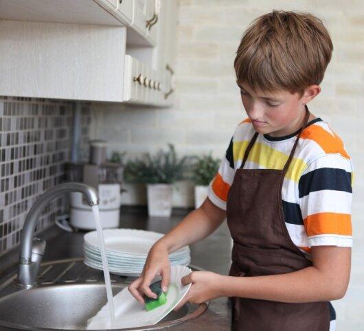 Kaip priversti vaiką darbuotis?