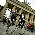 Senoviniø dviraèiø paradas Berlyne