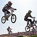 BMX dviratininkai